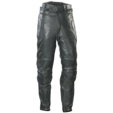 Spada Road Classic Leather Motorcycle Motorbike Trousers Pants Jeans